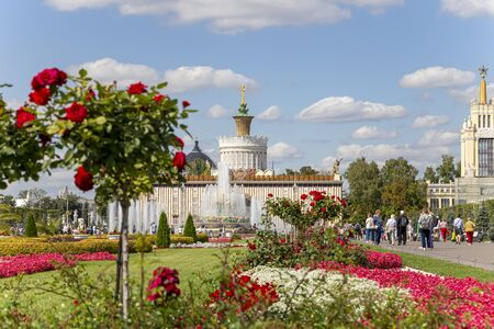 Pavilion 58 Agriculture, Moscow, Russia Imagens