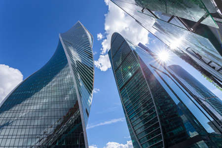 Skyscrapers International Business Center (City), Moscow, Russia