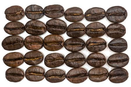 Coffee beans macro Reklamní fotografie
