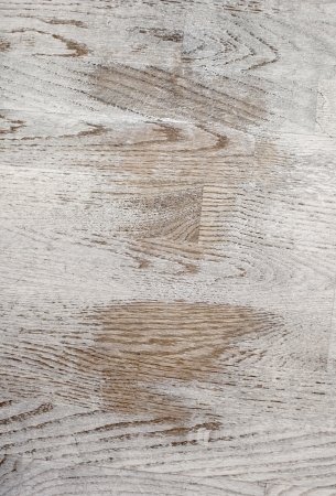White grungy parquet texture, white, grey and brown colors photo