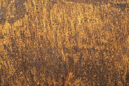 corrodet: Rusty, old, metal baking sheet.