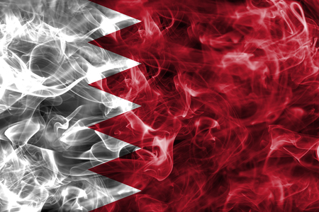 Bahrain smoke flag