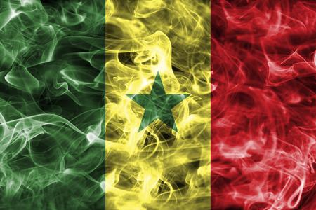 Senegal smoke flag