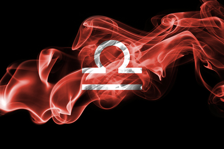 Smoky Libra zodiac astrology sign for horoscope