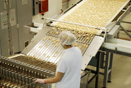 Ligne de production de biscuits et de gaufres