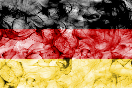 Germany smoke flag