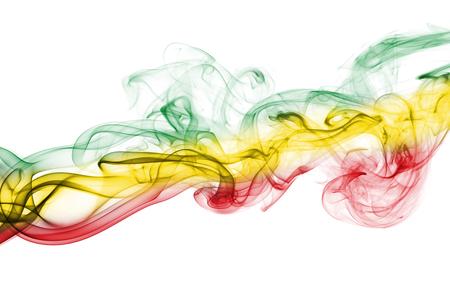 Ethiopia smoke flag