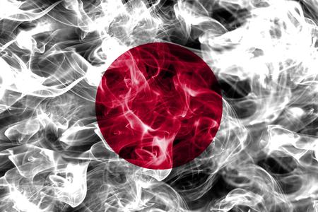 Japan smoke flag