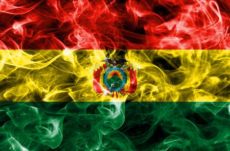 Bolivia smoke flag