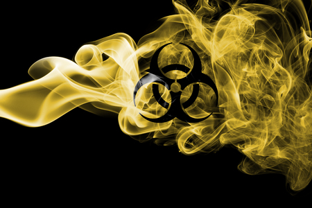 Biohazard smoke sign