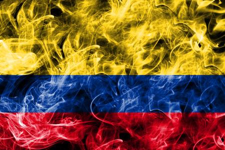 Colombia smoke flag