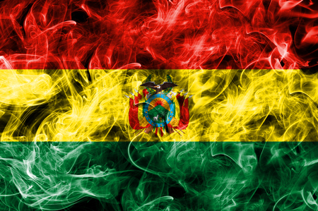 Bolivia smoke flag