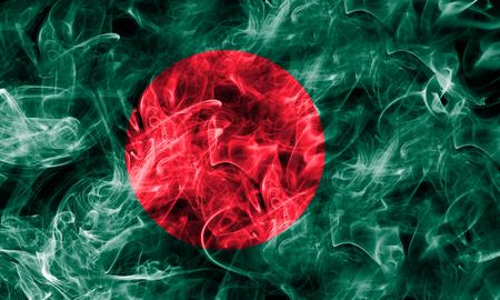 Bangladesh smoke flag