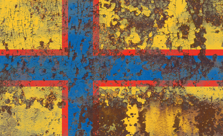 Ingrian grunge flag, Finland dependent territory flag