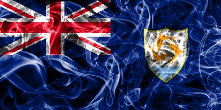 Anguilla smoke flag, British Overseas Territories, Britain dependent territory flag