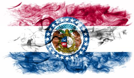 Missouri state smoke flag, United States Of America
