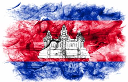 Cambodia smoke flag