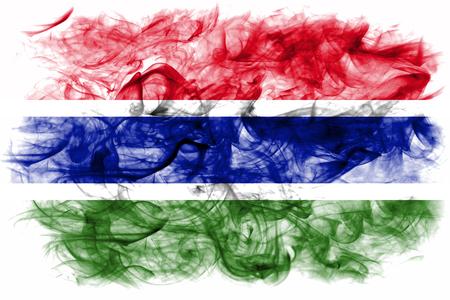 Gambia smoke flag