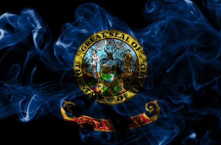 Idaho state smoke flag, United States Of America