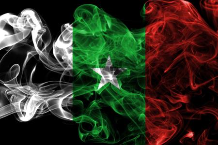 Casamance smoke flag, dependent territory flag