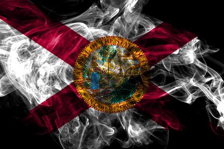 Florida state smoke flag, United States Of America
