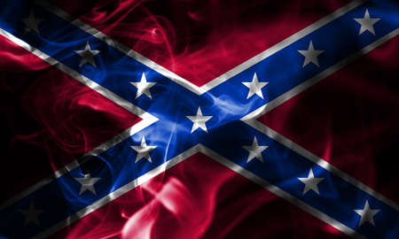 Confederate flag, Navy Jack smoke flag
