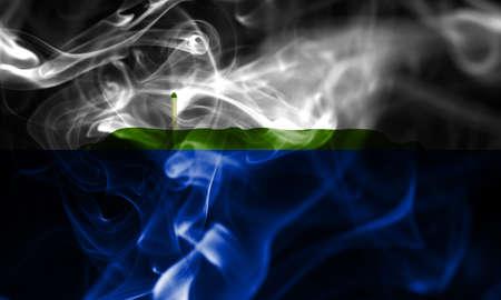 Navassa Island smoke flag, United States dependent territory flag