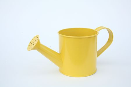 A yellow watering can 3