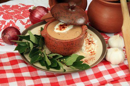 Creamy onion soup 2