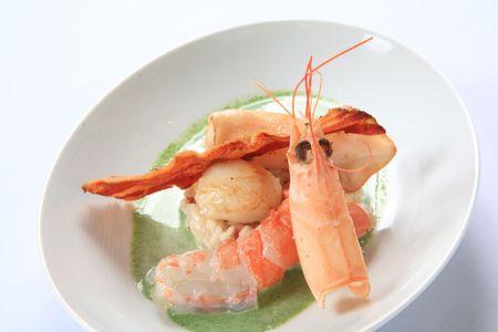Shrimp and squid 1