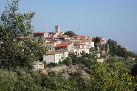 A small town on the Adriatic coast