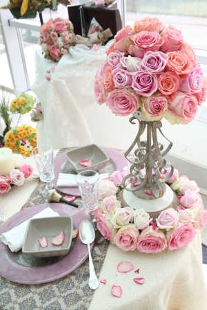 Wedding  table Stock Photo - 5733868