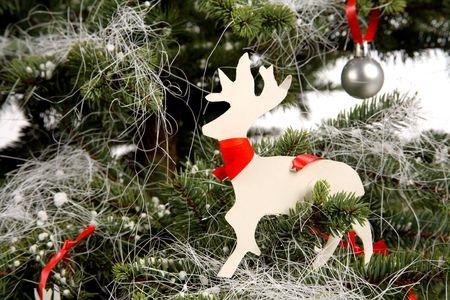 Decorated Christmas tree 3