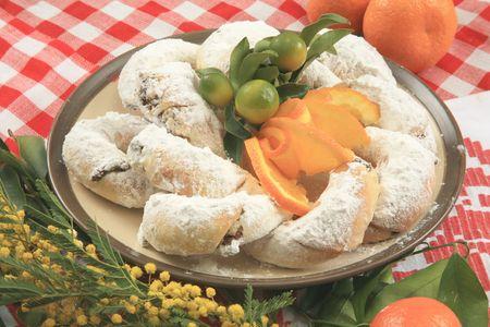 Vanilla croissant 2 Stock Photo - 5852417