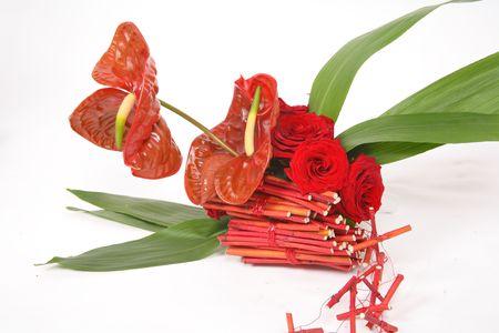 Flamingo flower Stock Photo - 5852411