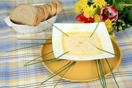 Creamy onion soup 3