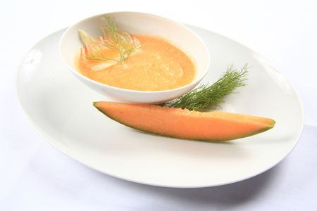 Melon soup 3