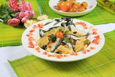 Pasta with sardine 4