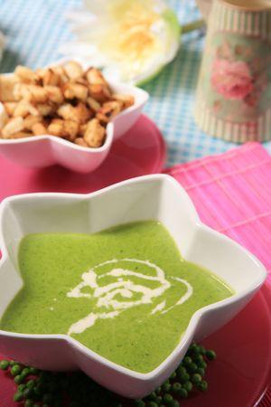 Creamy spinach soup 3