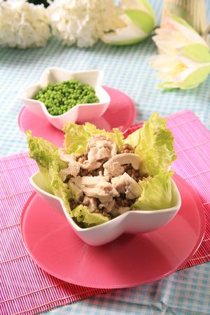 Chicken salad 4 photo