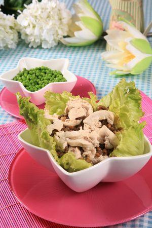 Chicken salad 3 Stock Photo
