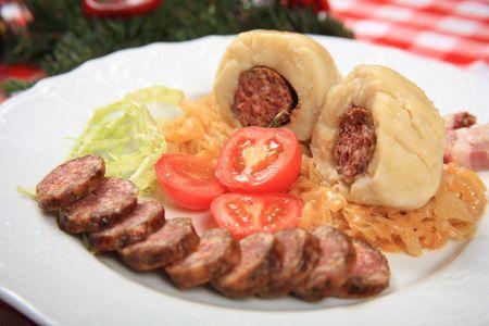 Dumplings stuffed sausage 3