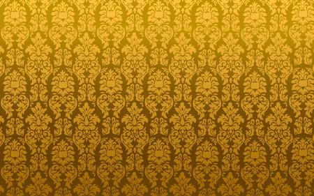 黄金ダマスク