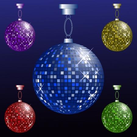 Mirror Ball: Disco Ball Illustration
