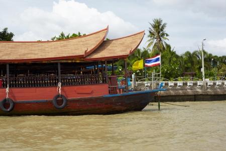 chao phraya river: Thailand, Bangkok. Ship on the Chao Phraya river Editorial
