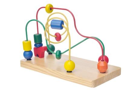Educational game for children against white background Stock Photo