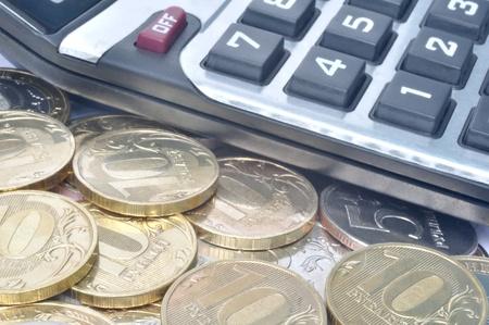 Money and calculator Stock Photo - 10314791