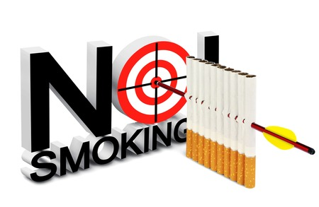 harm: Cigarette, arrow and a target in the concept of harm of smoking