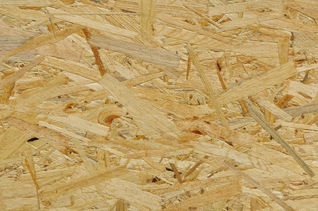 compressed: Slab of compressed wood chips as abstract background