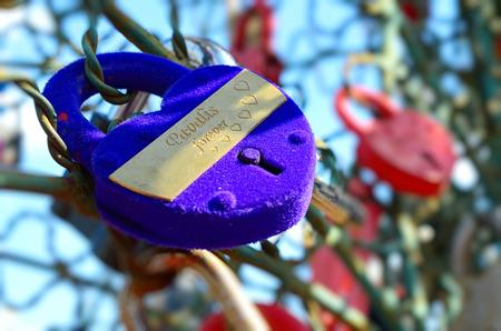 blue velvet: Blue velvet wedding locks. Valentine\\\\